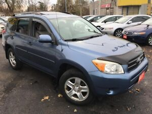 2007 Toyota RAV4 Auto / 4 CYLINDER / 4WD / LOADED