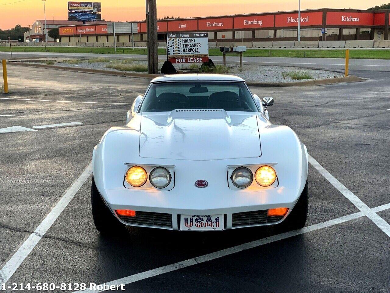 1973 White Chevrolet Corvette   | C3 Corvette Photo 3