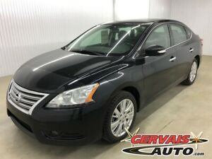 2014 Nissan Sentra SL GPS Cuir Toit Ouvrant MAGS Bluetooth
