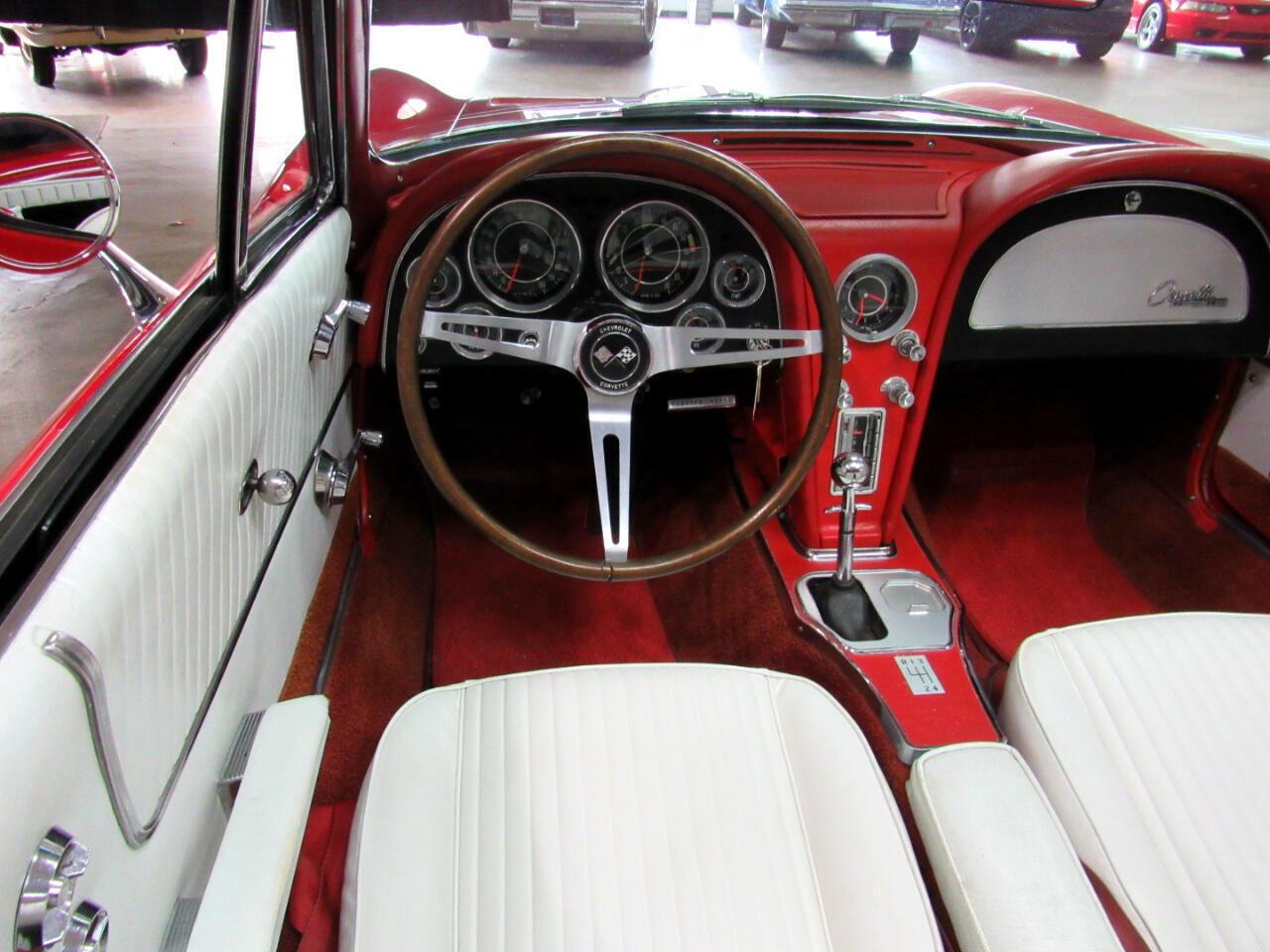 1964 Red Chevrolet Corvette Convertible  | C2 Corvette Photo 9