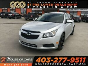2013 Chevrolet Cruze LT Turbo / Leather