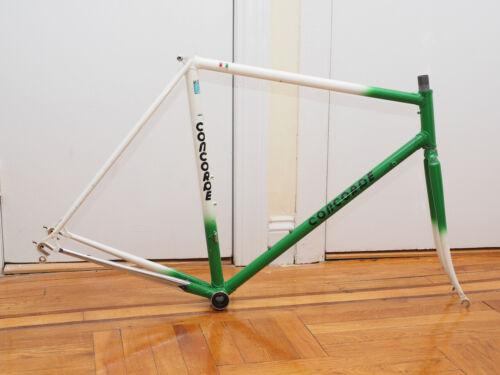 Concorde Aquila Steel Bicycle Racing Frame 55CM, Columbus Tubing, ITA BB, Italy