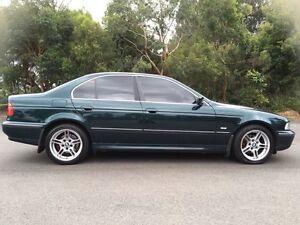 1998 BMW 5 Sedan, long rego, log books Parramatta Parramatta Area Preview