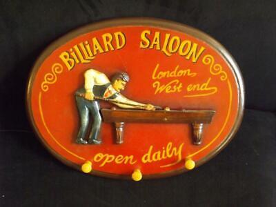 Billard Saloon Pool Wandschild London West Ende online kaufen