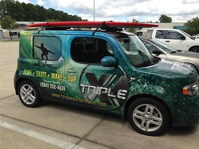 Triple X SUP /Stand Up Paddleboard/Kayak/Car Removable Soft Roof Racks/Fits SUV