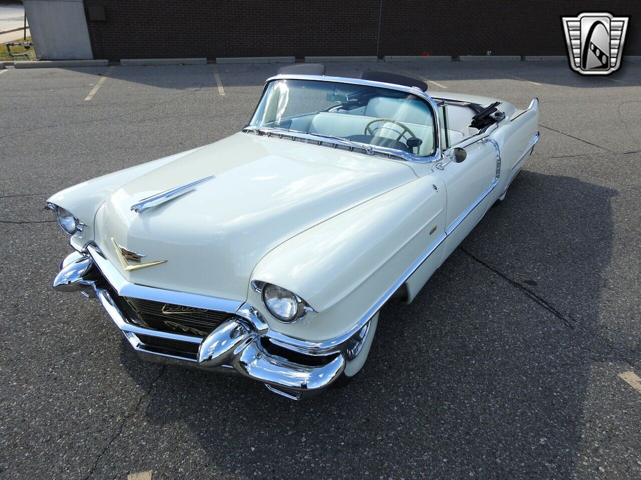White 1956 Cadillac Series 62 Convertible 331 CID V8 4 Speed Automatic Available