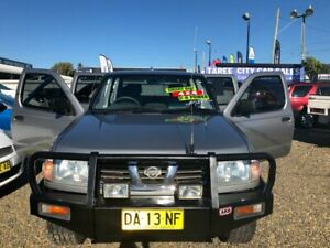 2000 Nissan Navara D22 DX Utility Dual Cab 4dr Man 5sp 4x4 3.0DT Silver Manual Utility Taree Greater Taree Area Preview