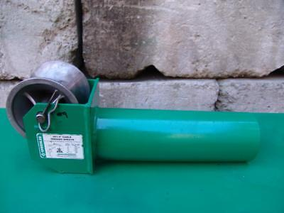 Greenlee 441 5 Cable Tugger Puller Feeding Sheave Great Shape