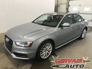 2015 Audi A4 Komfort S Line Quattro AWD Cuir Toit Ouvrant MAGS
