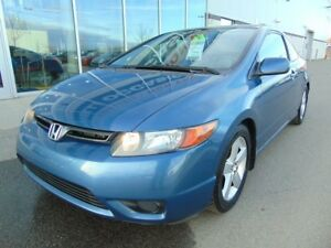 2008 Honda Civic Coupe EX-L CUIR TOIT BAS KM LEATHER ROOF LOW KM