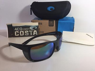 cd7049d412 New Costa Del Mar Rooster Polarized Sunglasses 400G Glass Blackout Green  Fishing