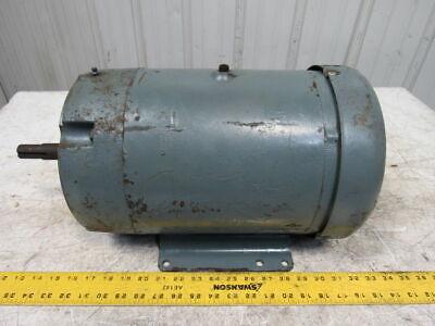 Baldor Jmm3711t 10hp 3450rpm 3ph 208-230460v 215jm Frame 78 Shaft Ac Motor