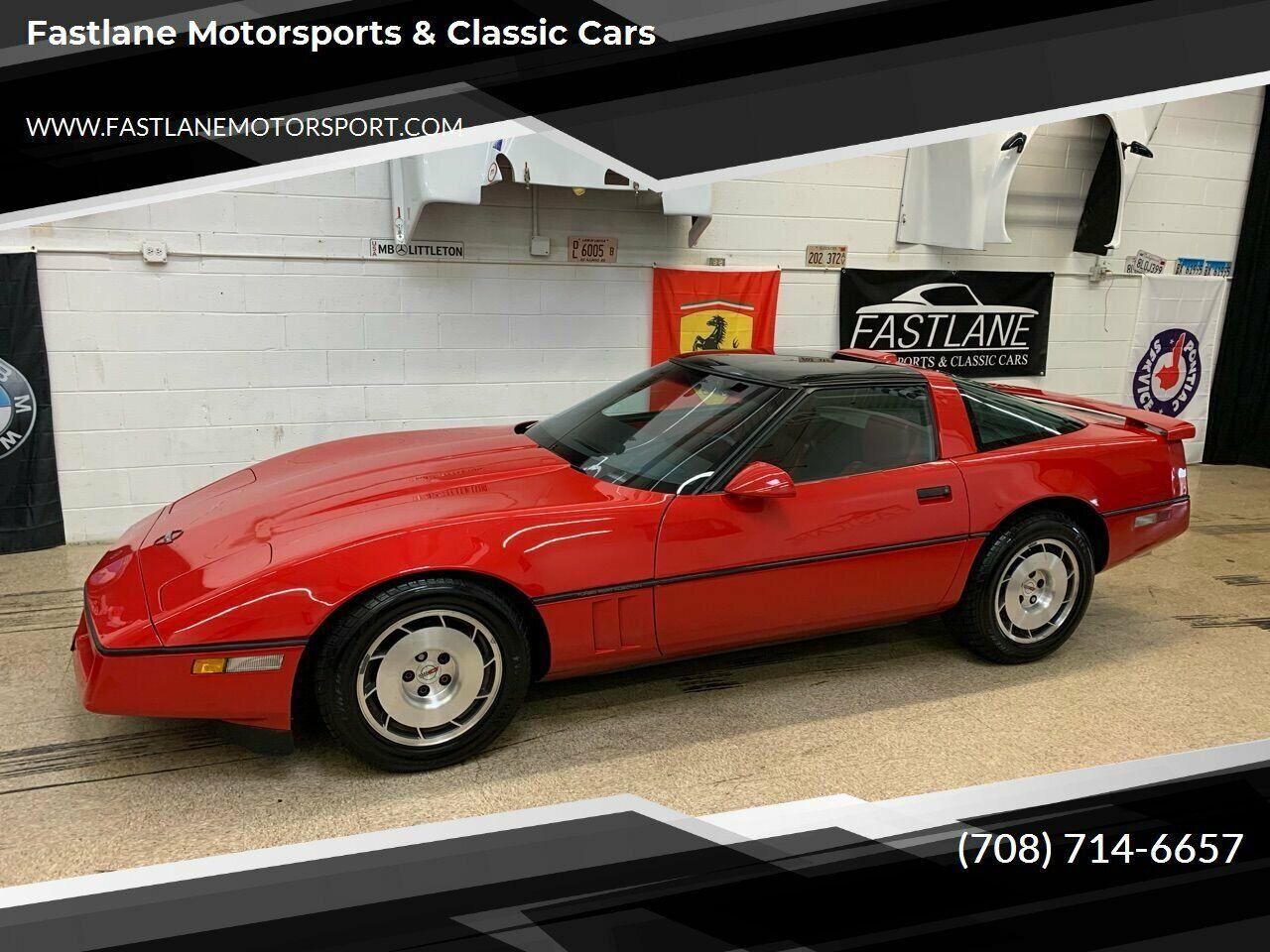 1986 Red Chevrolet Corvette   | C4 Corvette Photo 1