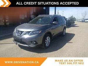 2016 Nissan Rogue SV 4WD, Remote keyless entry, Satellite Rad...