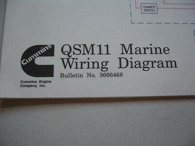 cummins diesel marine qsm11 wiring diagram service shop manual cummins diesel marine qsm11 wiring diagram service shop manual 366468 boat oem