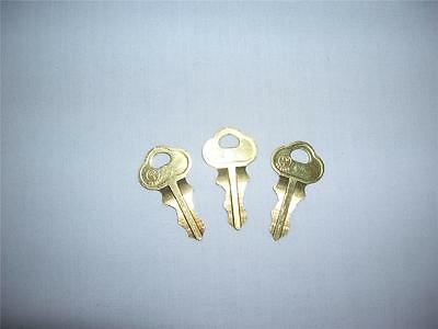 Slot Machine Jackpot Reset Key #2341 Lot of 3 Keys, IGT, Bally Free Shipping!!