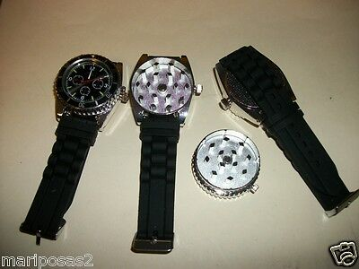 GRINDER WATCH GRINDER STASH WORKING WATCH JOLI BRAND BLACK ONLY