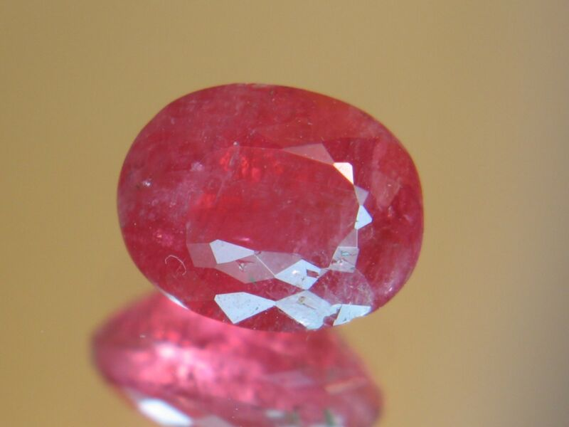 3.55CT XXRARE TRANSLUCENT FACETED AUSTRAILIAN RHODONITE