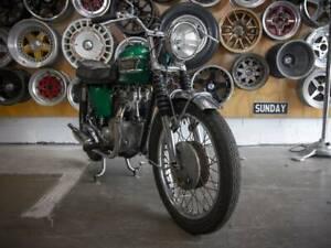 1962 Triumph Model 21 500cc Medlow Bath Blue Mountains Preview