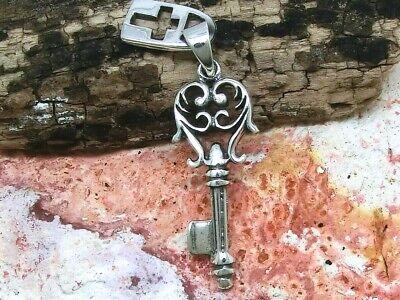 Kettenanhänger Schlüssel 925 Sterling Silber Anhänger Liebe Freundschaft