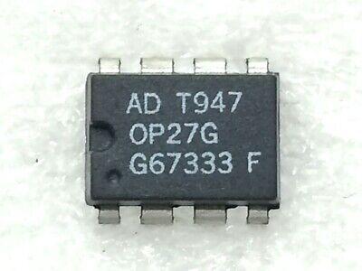 Op27gp Ad Op Amp Single Low Noise Amplifier 22v 8-pin Pdip 4 Pieces