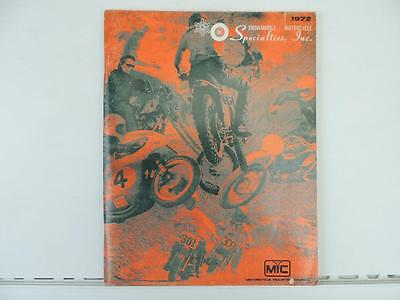 1972 Specialties Inc. Parts And Accessories Snowmobile Motorcycle Manual L452