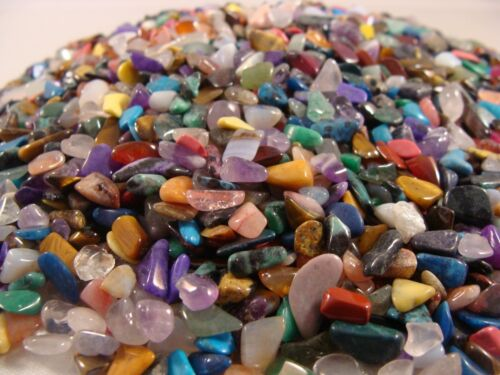 Tumbled and Polished Gemstones and Crystals - Size Tiny (Size #1) - 1 LB Lots