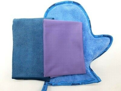 Norwex Microfiber Household Package Enviro+WindowCloth+Mitt, Colors May Vary
