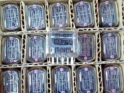 6pcs In-15a Same Code -15 Vfd Ussr Vintage Soviet Indicator Nixie Nos Tubes