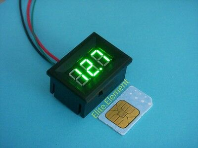 Mini Green Led Dc 0-100 Digital Thermometer Temperature Meter With Probe