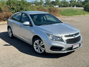 2015 Holden Cruze JH Series II MY15 Equipe Silver 6 Speed Sports Automatic Sedan Garbutt Townsville City Preview