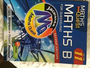 Maths Quest Year 11 Maths B for QLD 2nd Edition Highland Park Gold Coast City Preview