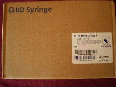 Bd 10ml Syringe Luer-lok Tip Box Of 200 5083516