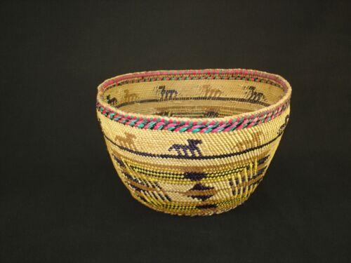 A Very Nice Northwest Skokomish, Native American Indian basket c.1935