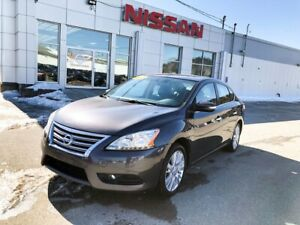2014 Nissan Sentra SL! Leather, Navigation! Leather interior wit