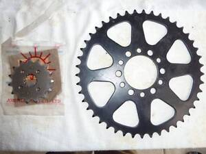 Yamaha DT3 250 1973 Sprockets, bash plate, steering damper. Buninyong Ballarat City Preview
