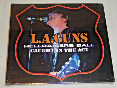 CD - L.A.Guns Hellraisers Ball-Caught In The Act (2008) Sealed Neu OVP - S 1 ()