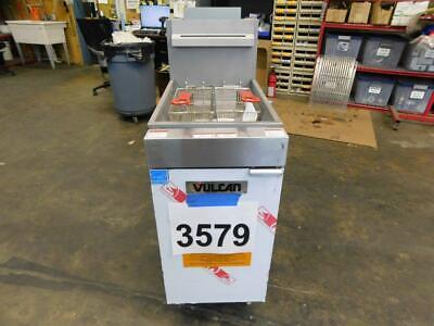 3579 Vulcan Veg Series Natural Gas Fryer Model1veg35m-1 - Free Shipping
