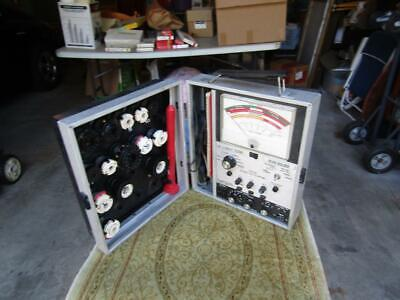 Super Mack Crt Tester Bean Builder Model 31 Sencore Powers Up And That All The