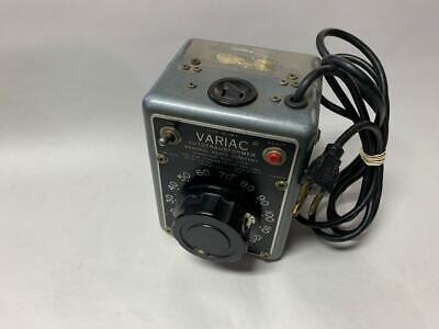 General Radio W5mt Variac Autotransformer 0-130 Volts 5 Amp