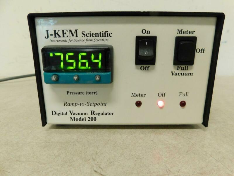 J-Kem Scientific 200 Digital Vacuum Regulator DVR