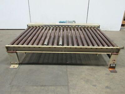 Power Roller Pallet Case Conveyor 71-12 X 43-12 208-230460v 3 Ph 46fpm