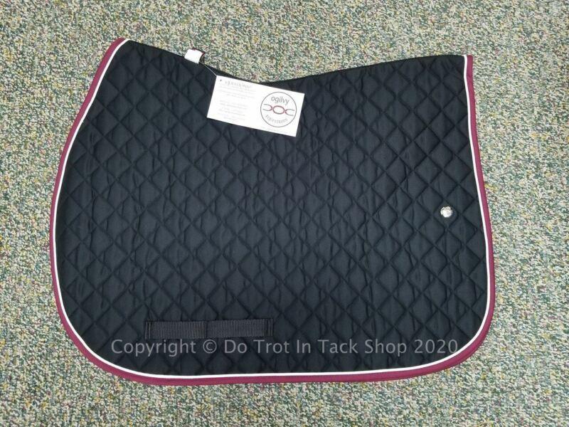 Ogilvy Jump Profile Pad - Black/White/Burgundy