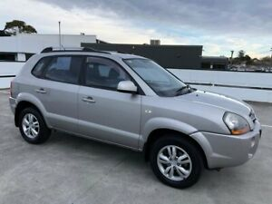 2009 Hyundai Tucson JM MY09 City Elite Grey 4 Speed Sports Automatic Wagon