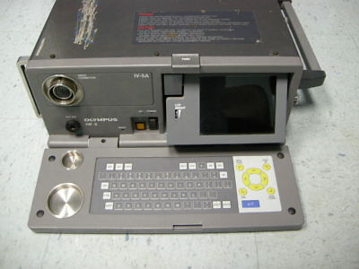 OLYMPUS IW-2 INDUSTRIAL VIDEO ANALYZER & IV-5A LIGHT SOURCE FOR BORESCOPE for sale  Oakville