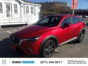 2016 Mazda CX-3 GT- $189 B/W ALL WHEEL DRIVE..HEATED LEATHER SEA