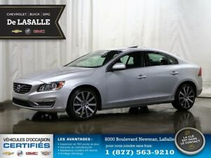 2014 Volvo S60 LIQUIDATION ON FAIT DE LA PLACE T6 AWD 1 owner