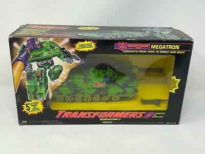 TRANSFORMERS G2 GENERATION 2 MEGATRON! BIG GREEN TANK! COMPLETE!
