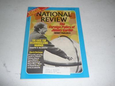 NATIONAL REVIEW MAGAZINE / OCTOBER 1 1976 / ZBIGNIEW BRZEZINSKI  HENRY KISSINGER ()