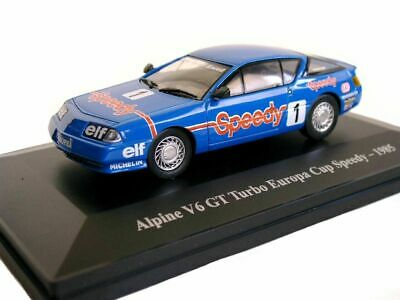 Renault Alpine V6 Gt turbo Europa cup Speedy Eligor 1/43 hachette